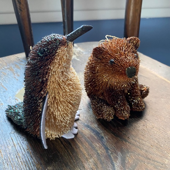 Penguin and Bear ornament/decoration